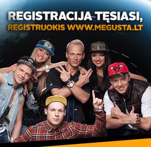 registracija tesiasi