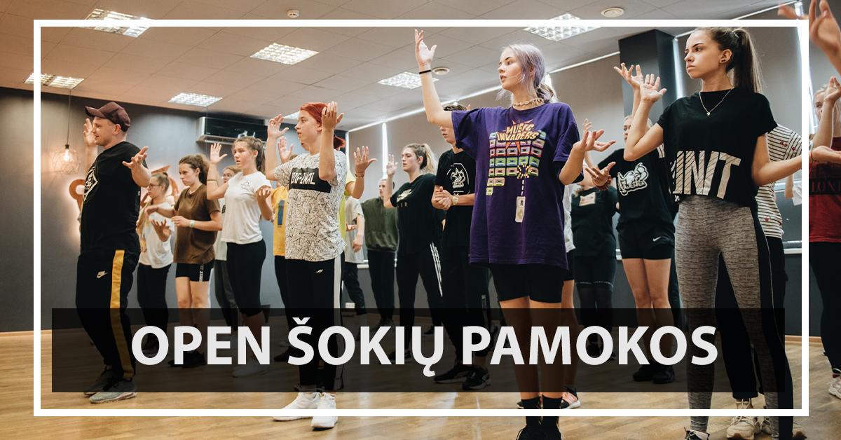 Atviros šokių pamokos