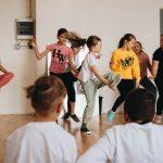 dienos šokių stovykla
